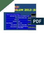 Aplikasi Raport Kur 2013 Smp