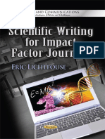 Scientific Writing for Impact Factor Journals 2013.pdf
