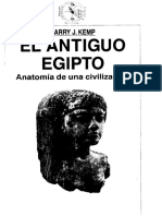 KEMP, Barry- El Antiguo Egipto. Anatomía de Una Civilización