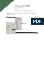 Guía de Implementación GPO