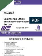 ES 4498G Lecture 3 - 2010