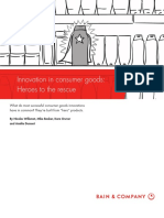 BAIN BRIEF Innovation in Consumer Products