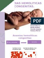Anemias hemoliticas congenitas