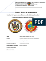 Normativa ISO 9001-2015