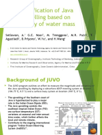Variation of Java Upwelling based on variability of water mass