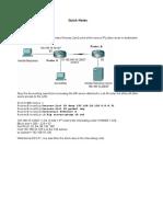33597689 Ccna Quick Revision Notes
