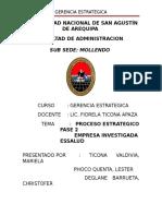 Gerencia Estrategica-Trabajo-Essalud PARTE II - Indice