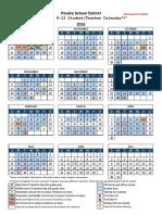 psd 2016-17 calendar