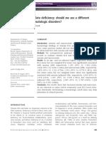 International Journal of Laboratory Hematology (Blackwell) Volume 36 Issue 4 2014 [Doi 10.1111_ijlh.12158] Toprak, B.; Yalcın, H. Z.; Colak, A. -- Vitamin B12 and Folate Deficiency- Should We Use a