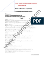 MAINTENANCE ENGINEERING Q&A.pdf