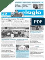 Edicion Impresa El Siglo 29-03-2016