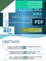 Parametros de La Calidad Del Aire