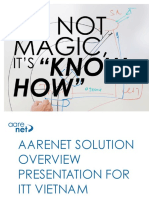 Aarenet Company Profile and Solution Overview for ITT 20151113 CTP
