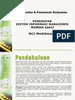 Proposal Perkenalan SIM RS NCI MediSMart