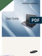 Samsung r588 Manual