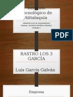 Rastro Los 3 García