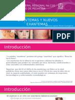 Exposición enfermedades exantematicas