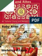 Rites and Rituals- Hinduism