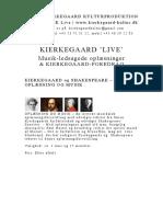 Kierkegaard Live A