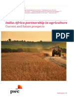 India Africa Partnership in Agriculture Current and Future Prospects