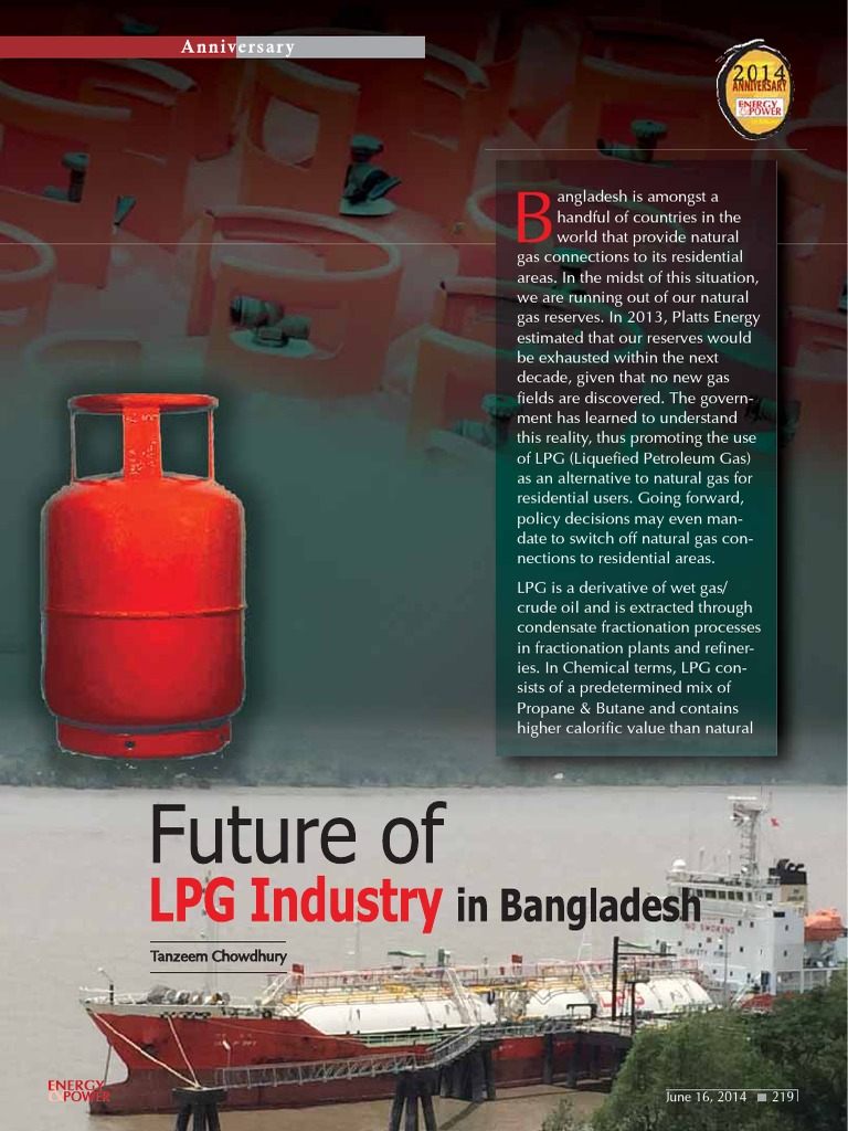 Future of LPG Industry of Bangladesh | Liquefied Petroleum