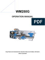 WM250G Operation Manual 60