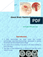 About Brain Haemorrhage