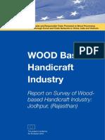 Report on Survey of Woodbased Handicraft Industry Jodhpur Rajasthan