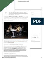 La Interpretación Teatral - Actores y Locutores
