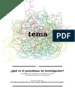 Cap. 1 Que Es El Periodismo de Investigacion Tema Para Tarea