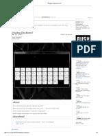 Display Keyboard _ Vvvv