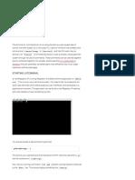 8. Terminal - Raspberry Pi Documentation