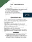 Descripción de Puestos y Comisión