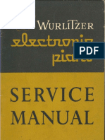 Wurlitzer 110 Service Manual