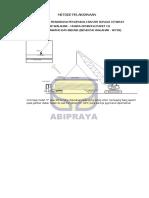 Metode Pelaksanaan Pemancangan Pile Driver Hammer Sungai Citarum