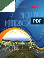 Uaeu Faculty Handbook 2013
