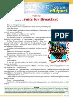 HealingHabits03-Eat 5 Fruits for Breakfast