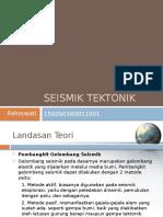 Presentasi Seismik Tektonik.pptx