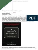 Literatura y Artes Marciales » Manifiesto de Un Lector