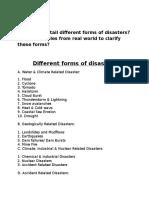 Disaster MGT