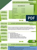 Audit Sistem Kepastian Mutu