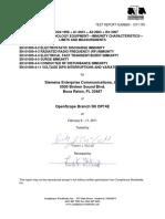EMC_Test_Report_-_OSB_50i_DP14E_-_EN55024_137-11R1