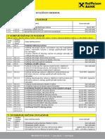 Naknade u Poslovanju s Fizičkim Osobama s Datumom Primjene 04.05.2015. (1)