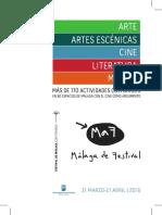 Programa MaF Málaga de Festival