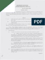 Notification Regarding Amendment of Punjab CSR i