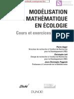 Modélisation Mathématique en Écologie - Cours Et Exercices Corrigés