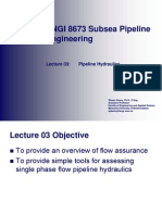 03 - Pipeline Hydraulics