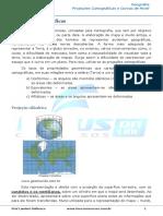 Aula 2 - Projeções Cartograficas e Curva de Nivel