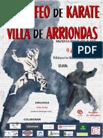 Normativa IV Trofeo Villa de Arriondas 2016
