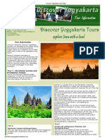 Discover Yogyakarta Tours Page